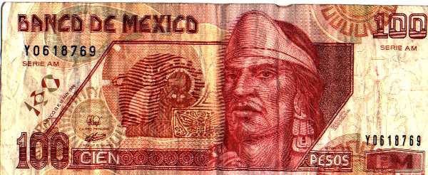 Nuevo billete de 100 pesos con Nezahualcóyotl El Rey Poeta