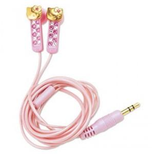 Tiernos audífonos de Hello Kitty