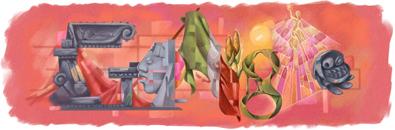 Google recordando el Bicentenario de la Independencia de México