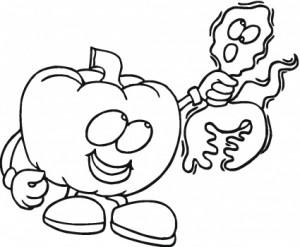 Más dibujos para colorear de Halloween