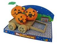Figuras de Halloween en papel