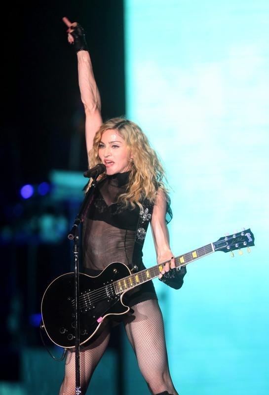 Madonna inicia en México Hard Candy Fitness