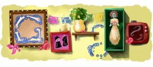Google celebrando el Día de Muertos 2010