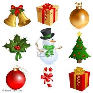 Set de 5 iconos de Navidad Gratis