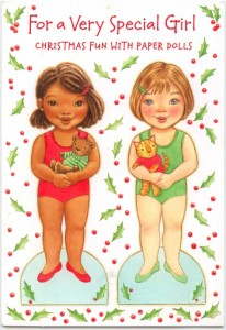 Muñecos navideños para vestir