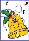 actividades con el tema de Invierno: Puzzles, Rompecabezas, Dominós y más