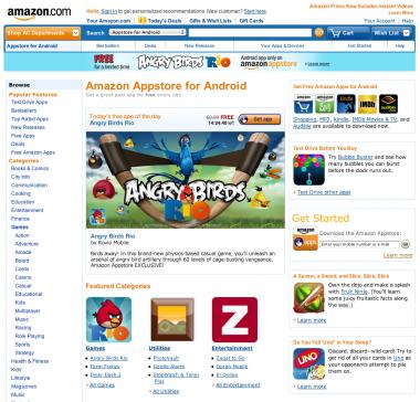 Amazon abre su Appstore para aplicaciones de Android