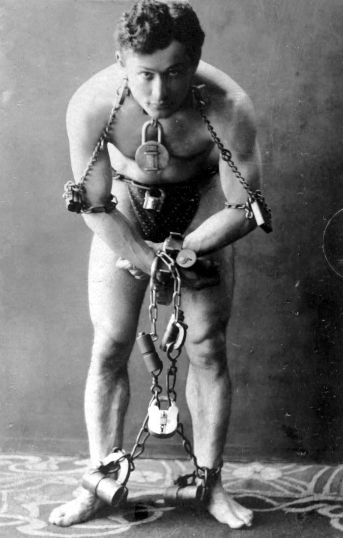 Google celebrando el nacimiento del Gran Houdini