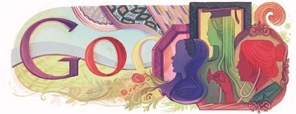 Google celebrando el Día Internacional de la Mujer 2011