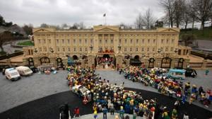La creatividad en la boda del príncipe William:recreación con piezas Lego