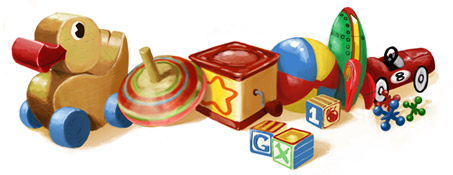Google Celebrando el Día del Niño