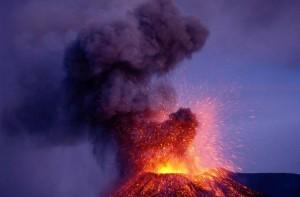 El mitológico volcán Etna se enfurece