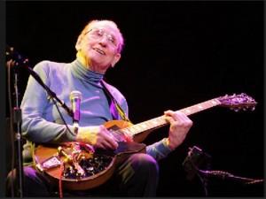 Google recordando a Les Paul, inventor y virtuoso de la guitarra