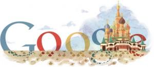 Google celebrando el 450 aniversario de la Catedral de San Basilio