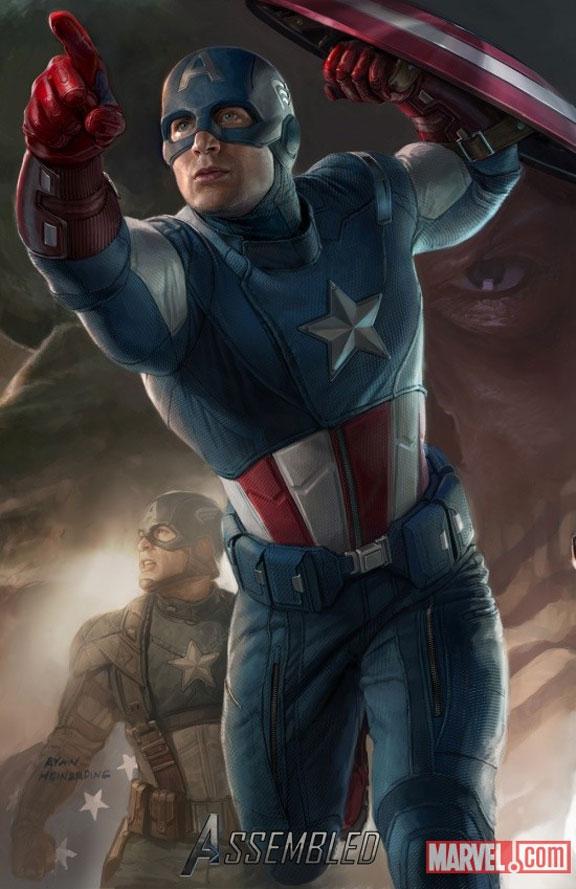 El gran poster de The Avengers de Marvel