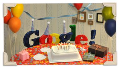 Google un año más con manteles largos ¡Felicidades!!!