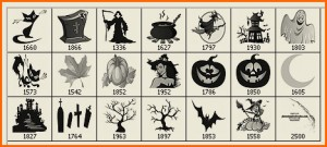 Brochas para Photoshop relacionadas con Halloween
