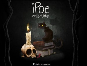 Uno de los maestros de la Literatura Edgar Allan Poe en el iPad