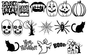 Imágenes para Halloween en Vectores
