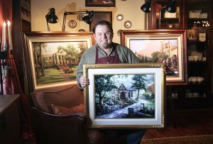 Murió el pintor estadounidense Thomas Kinkade