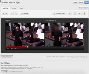 Blur All Faces nueva herramienta de YouTube para desenfocar  rostros