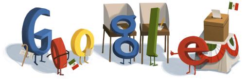 Google en las Elecciones 2012 de Méxic