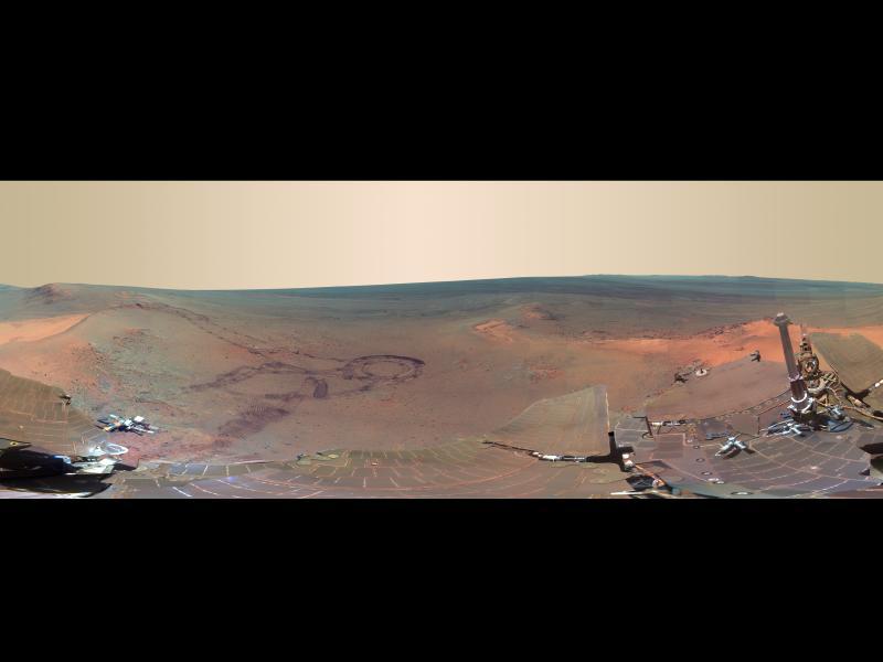 La NASA comparte nuevas imágenes de Marte