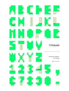 Typogami: una fuente divertida