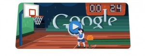 Otro interactivo de Google para London 2012:Basketball