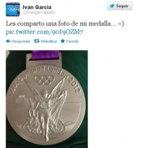 Mexicanos de metal en la Olimpiada de Londres 2012: Iván García