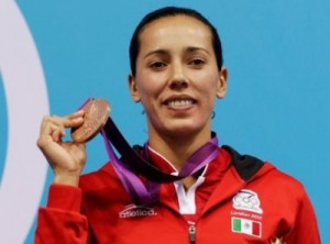 Mexicanos de metal en los Olímpicos de Londres 2012: Laura Sánchez