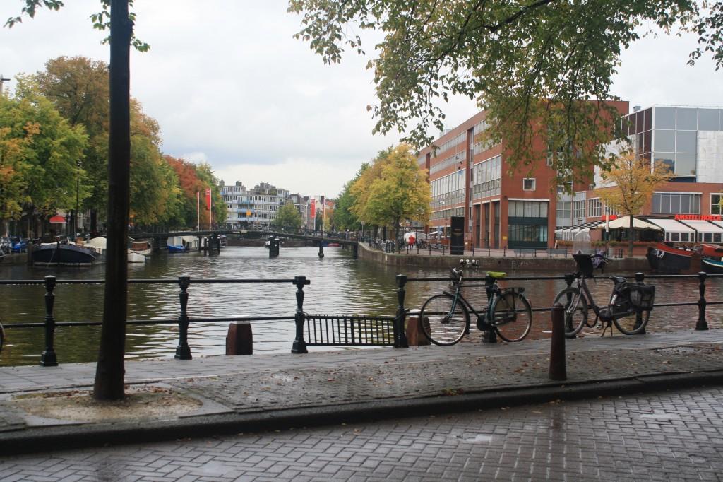 La cultura de la bicicleta en una ciudad con educación: Ámsterdam
