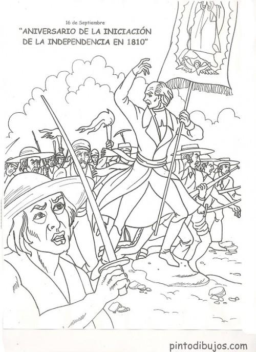 dibujos de la independencia