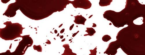 gotas de sangre-brochas