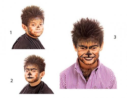 maquillaje para halloween-hombre-lobo-today