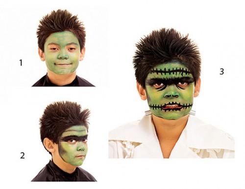 maquillaje para halloween.frank-todays parents